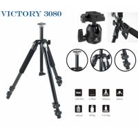 Tripod Ballhead Victory 3080B untuk kamera DSLR / Camcorder Video