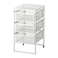 BEST SELLER IKEA LENNART Unit laci, abu-abu tua, abu ge Murah