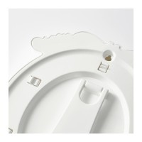 IKEA Ikea Kvill ~ Bingkai Foto Dekorasi  Oval, Putih, 1 Diskon
