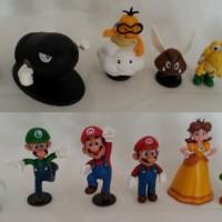 Mario Figure Action Bomb Set (12pcs/set)