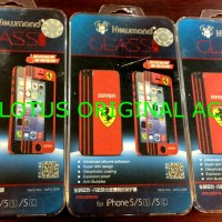 Newmond Colour Temperedm Glass For IPHONE5/5S/SE(Ferrari)