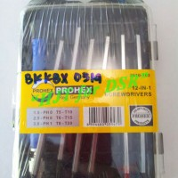 Obeng Presisi 12in1 Prohex