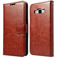 Luxury Wallet Leather Case Samsung Galaxy Grand Prime