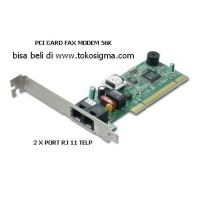 PCI 56K FAX MODEM internal Card