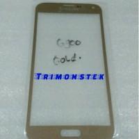 Kaca Lcd Samsung Galaxy S5 G900 Gold Original