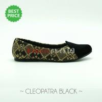 harga Sepatu etnik, batik, tenun / flat shoes wanita - Cleopatra Black Tokopedia.com