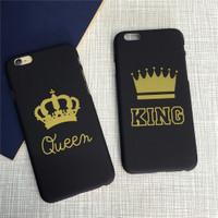 Iphone case couple.. Case iphone 5 6 6plus KingQueen COUPLE EDITION