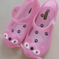 Mini Melissa Replica Replika Cat Jelly Shoes Sepatu Anak Kucing