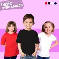 Kaos Polos Anak T- Shirt Branded Sale Cotton