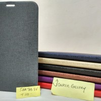 Flip Cover Samsung Tab 3V T110 Premium Leather Case