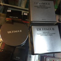 Bedak Tabur Ultima 2 delicate translucent face powder with moisturizer
