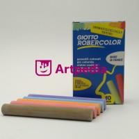 Kapur papan tulis warna GIOTTO bebas debu / Colour Blackboard Chalk