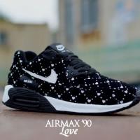 harga Sepatu kets running senam wanita gaul dan modis nike airmax 90 love Tokopedia.com