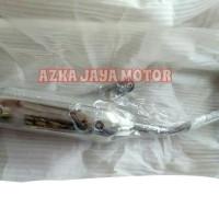 harga Knalpot Racing Bobokan Chrome Mio J model standar Tokopedia.com