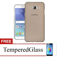 Case for Samsung Galaxy Z2 - Abu-abu + Gratis Tempered Glass - Ultra T