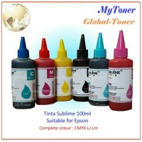 harga TINTA SUBLIM / SUBLIME SABLON PRINTER EPSON INKJET CYAN KOREA 100ML Tokopedia.com