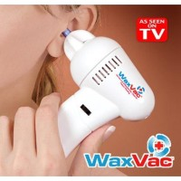 WAX VAC Electric Ear Wax Vacuum  Removal / Alat Pembersih Telinga-Whit
