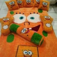 harga karpet lantai karakter / surpet fullset / kasur karpet bulu spongebob Tokopedia.com