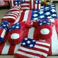 harga karpet lantai karakter / surpet set / kasur karpet bulu amerika Tokopedia.com