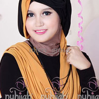 Nuhijab Tts - Black Mustard | Grosir Hijab