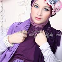 Nuhijab Tts - Purple Dark Purple | Grosir Hijab