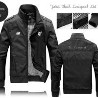 harga Jaket Black Liverpool Anti Air Hujan Panas Cocok Untk Motor dan Gaul Tokopedia.com