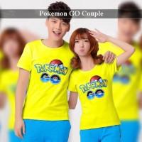 pusat kaos couple kekinian | baju pacaran terbaru | pokemon go kuning