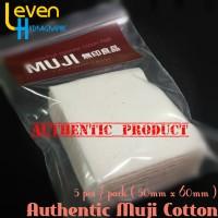 Muji Organic Japanese Cotton / Kapas Organik Jepang untuk Vaping
