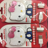Power Bank Hello Kitty Plus Kable Iphone & Samsung