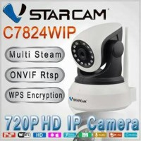 CCTV IP CAMERA HD WIRELESS PUTAR 128gb Ltd Edition C7824WIP Vstarcam