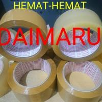 Jual lakban bening/coklat Daimaru Murah