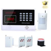 Alat Keamanan Rumah/Kantor/Toko/Tempat Usaha GSM Alarm Terbaru
