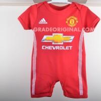 harga Baju bola anak baby jumper jumpsuit jersey Manchester United home Tokopedia.com