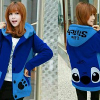 harga SWEATER JAKET STITCH HOODIE KOREA COAT Tokopedia.com