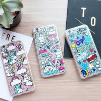 tumblr glitter soft case iphone 5/5s/6/6s/6+/6s+
