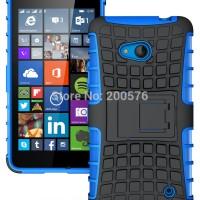 Bumper Hybrid Heavy Armor Hard Soft Case Cover Casing Nokia Lumia 640