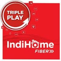 Pasang Layanan Indihome & beralih ke Fiber 100% TriplePlay For Bandung