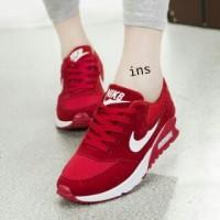 Jual sepatu kets nike wanita murah 661 merah Murah