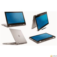 Notebook DELL Ins 13-7359 - Silver i5-6200/4Gb/500Gb/13.3 Touch/Win 10