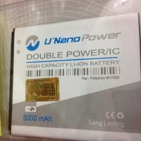 Baterai Polytron Quadra V5 W7550 Pl-7w6 U Nano Power 5000Mah