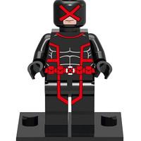 Cyclops (Scott Summers) Red X-Men Marvel Super Heroes - Lego Bootleg