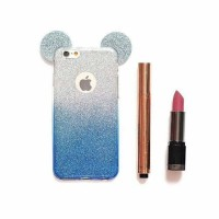 Mickey Glitter Case for Iphone 4/4s/5/5s/SE/6/6s, Samsung Grand Prime