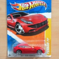 HOT WHEELS FERRARI FF RED 2011 NEW MODELS #45/244