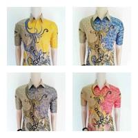 Jual Jual Baju Batik Pria | Batik Kerja|Kantor | Kemeja Batik Saloka Modern Murah