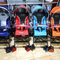 Baby Stroller Pliko Adventure 2-BARU