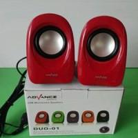 Jual Speaker Murah Advance Duo 01 - Speaker USB Berkualitas