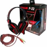Jual Jual Headset Rexus F-22 Headphone Gaming Stereo Murah Berkualitas Murah