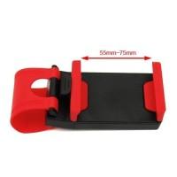 car holder / universal steering wheel phone socket hold Berkualitas
