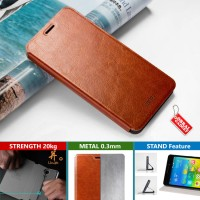harga Xiaomi Mi Max Mofi Soft Leather Flip Case Flipcase Cover Coklat Prime Tokopedia.com