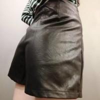 Jual rok wanita midi skirt flare a line satin hard sleting fashion grosir Murah